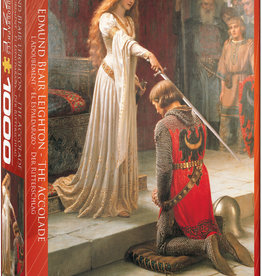 EDMUND BLAIR LEIGHTON THE ACCOLADE 1000 PIECE PUZZLE