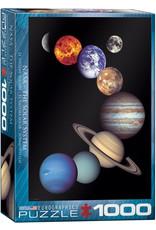 NASA SOLAR SYSTEM 1000 PIECE PUZZLE
