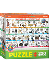 KIDS INVENTORS AND THEIR INVENTIONS 200 PIECE PUZZLE
