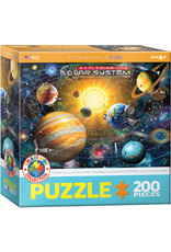 EXPLORING THE SOLAR SYSTEM 200 PIECE PUZZLE