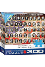 XL PRESIDENTS OF THE UNITED STATES 300 PIECE PUZZLE