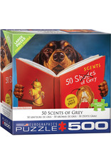 50 SCENTS OF GREY 500 PIECE PUZZLE