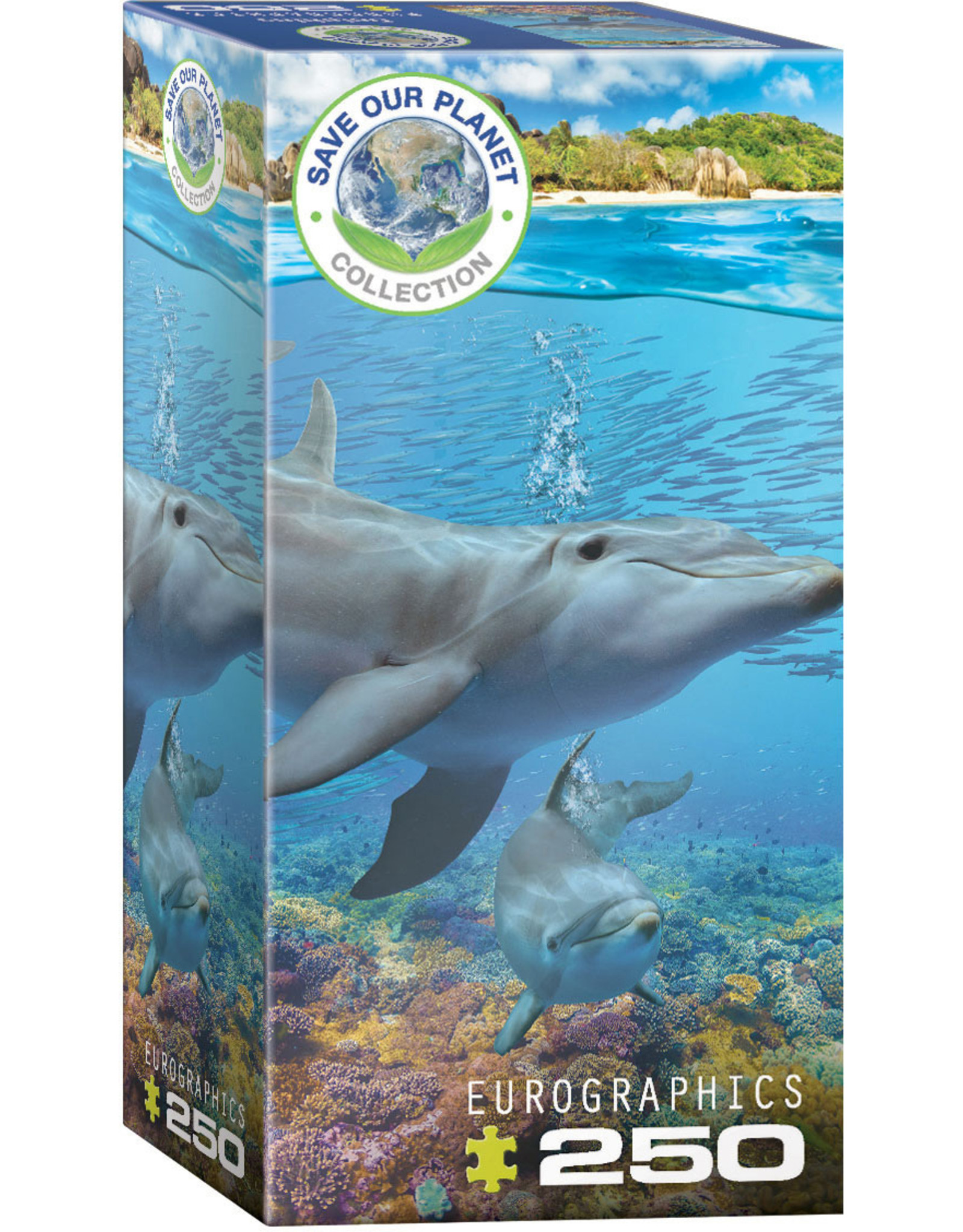 SAVE OUR PLANET DOLPHINS 250 PIECE PUZZLE