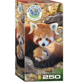 SAVE OUR PLANET RED PANDAS 250 PIECE PUZZLE