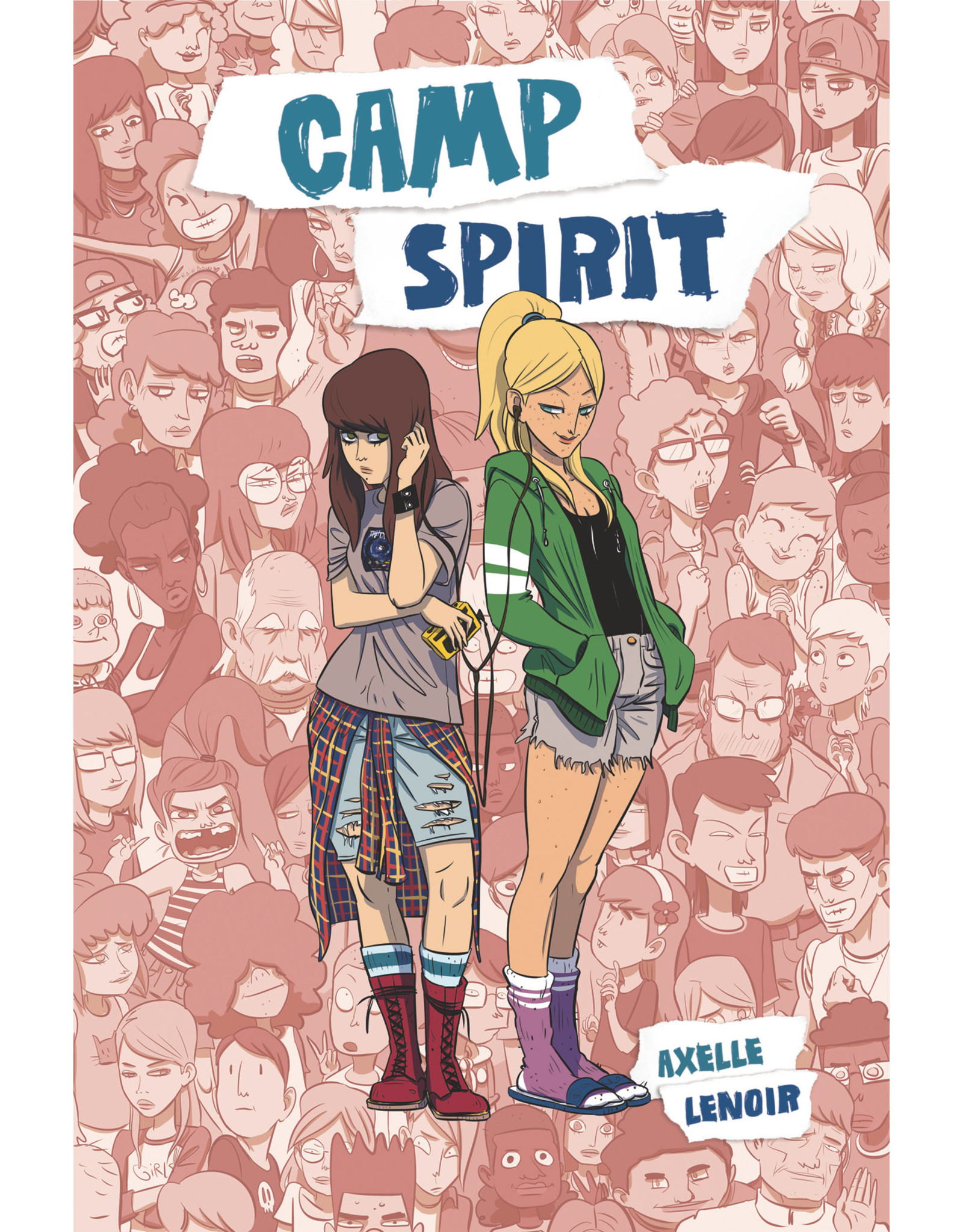IDW - TOP SHELF CAMP SPIRIT SC GN