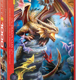DRAGON CLAN 1000 PIECE PUZZLE