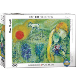 MARC CHAGALL THE LOVERS OF VENICE 1000 PIECE PUZZLE