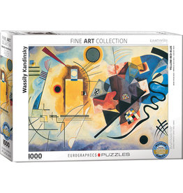 WASSILY KANDINSKY YELLOW RED BLUE 1000 PIECE PUZZLE
