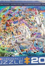 UNICORN FANTASY 2000 PIECE PUZZLE