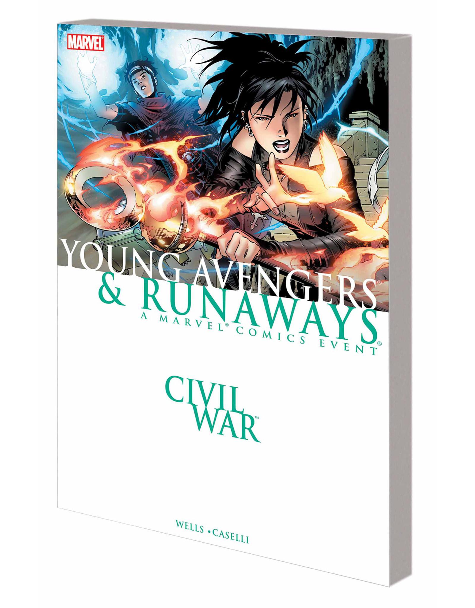 MARVEL COMICS CIVIL WAR YOUNG AVENGERS & RUNAWAYS TP