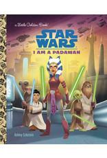 GOLDEN BOOKS STAR WARS LITTLE GOLDEN BOOK I AM PADAWAN