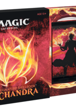 WIZARDS OF THE COAST MAGIC THE GATHERING CHANDRA SIGNATURE SPELLBOOK