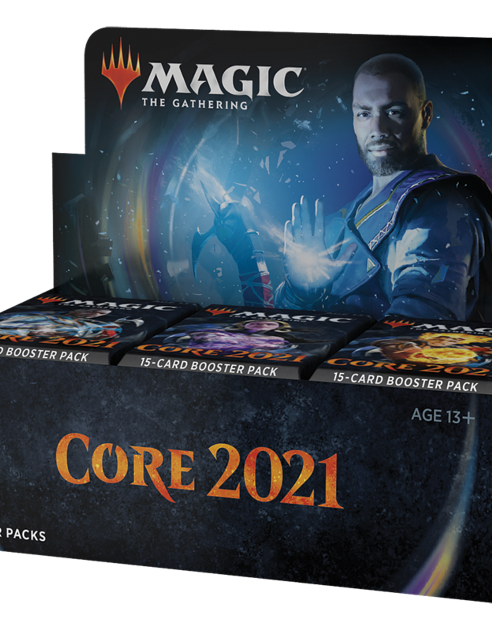 WIZARDS OF THE COAST MAGIC THE GATHERING CORE 2021 DRAFT BOOSTER BOX