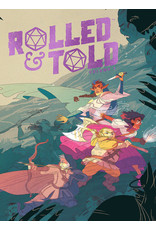 ONI PRESS INC. ROLLED AND TOLD HC VOL 01