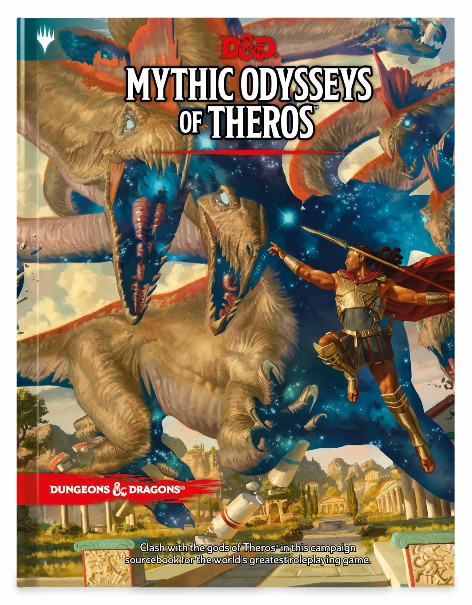WIZARDS OF THE COAST DUNGEONS & DRAGONS MYTHIC ODYSSEYS OF THEROS PRE-ORDER