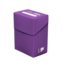 ULTRA PRO ULTRA PRO DECK BOX SOLID PURPLE
