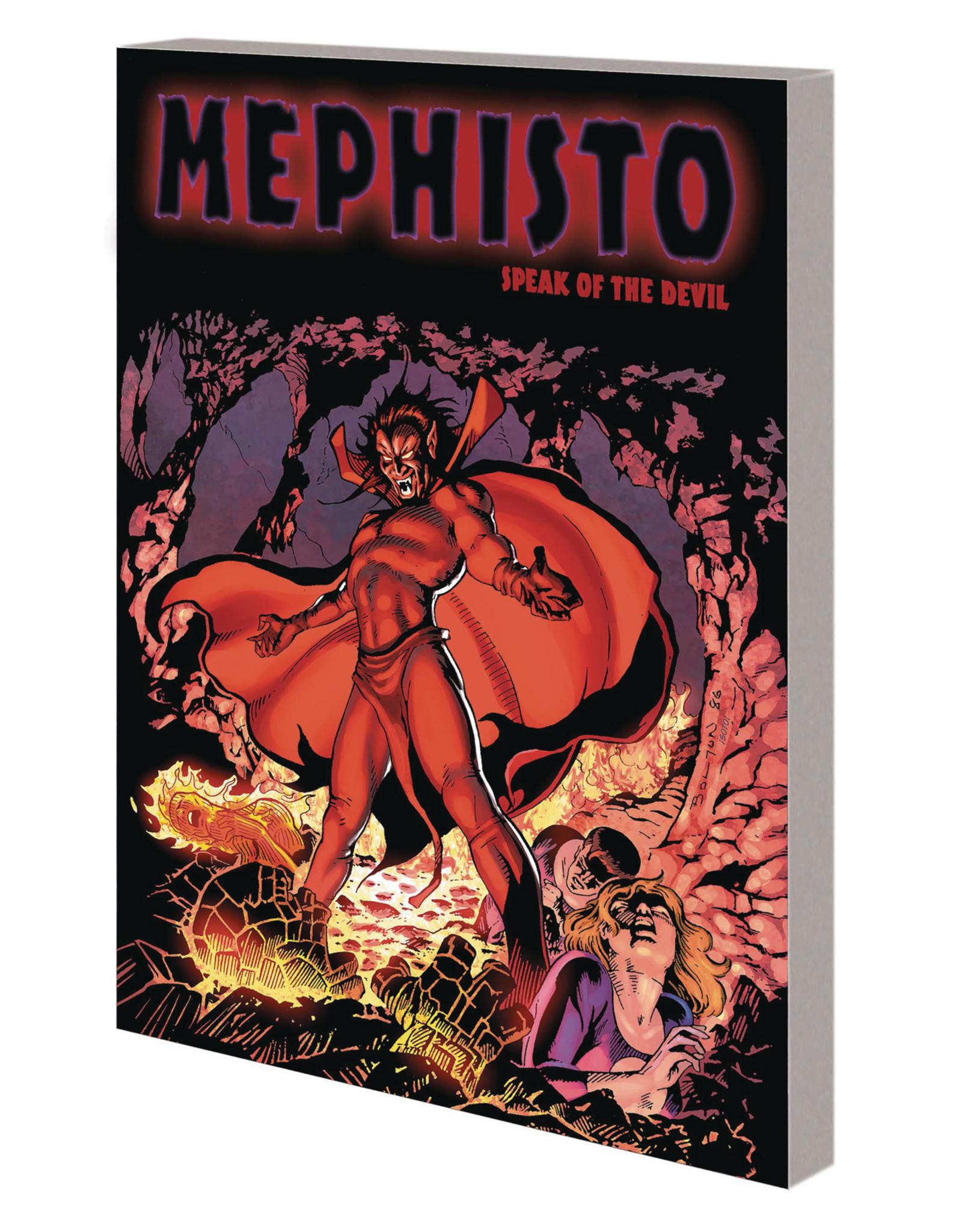MARVEL COMICS MEPHISTO TP SPEAK OF THE DEVIL