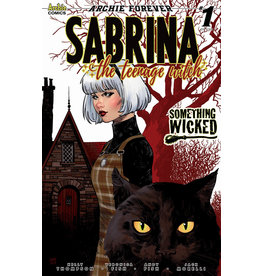 ARCHIE COMIC PUBLICATIONS SABRINA SOMETHING WICKED #1 (OF 5) CVR E STEWART