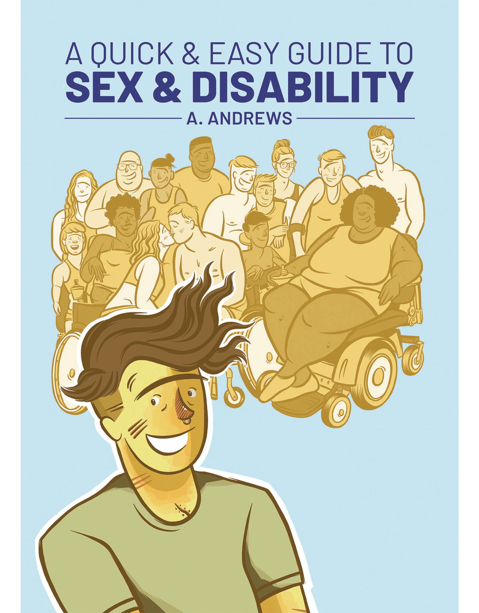 ONI PRESS INC. QUICK & EASY GUIDE TO SEX & DISABILITY GN