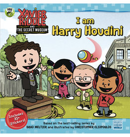 XAVIER RIDDLE & SECRET MUSEUM SC I AM HARRY HOUDINI