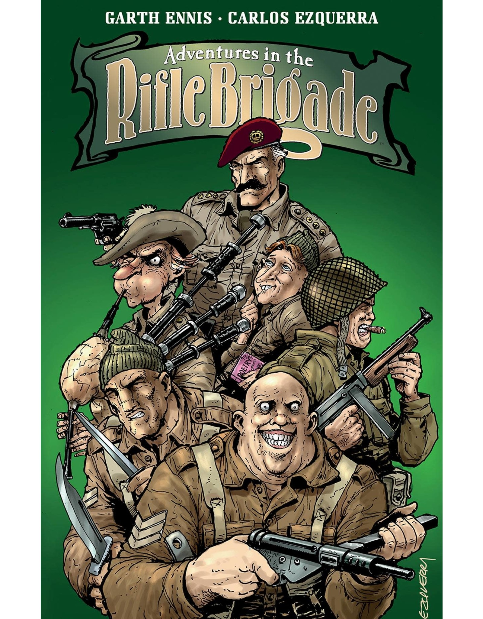 IMAGE COMICS ADVENTURES IN THE RIFLE BRIGADE TP