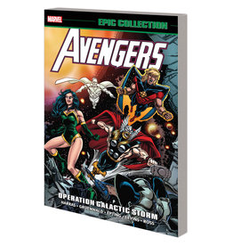 MARRS MEDIA INC AVENGERS EPIC COLLECTION OPERATION GALACTIC STORM TP