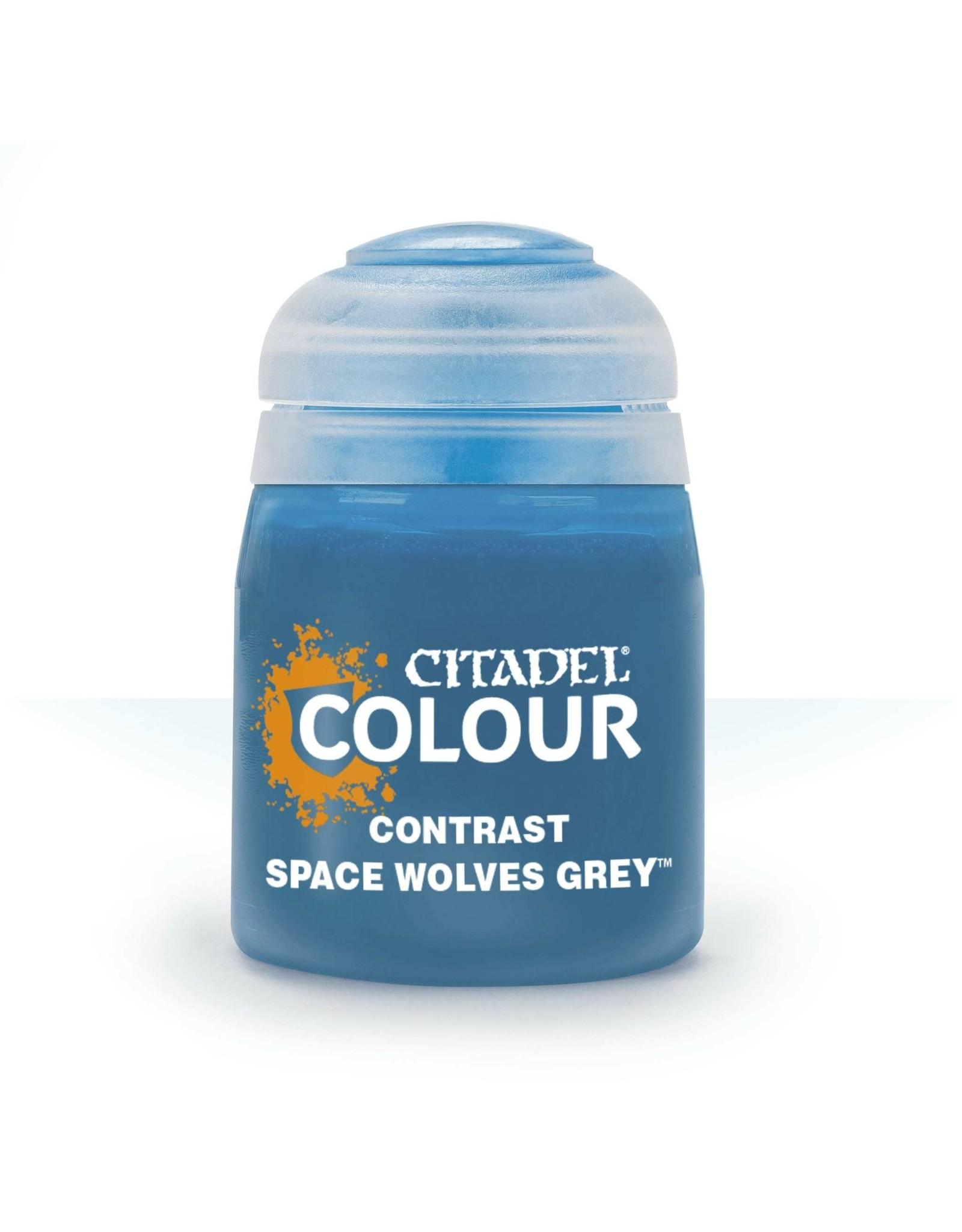 GAMES WORKSHOP CITADEL COLOUR CONTRAST: SPACE WOLVES GREY 18 ML