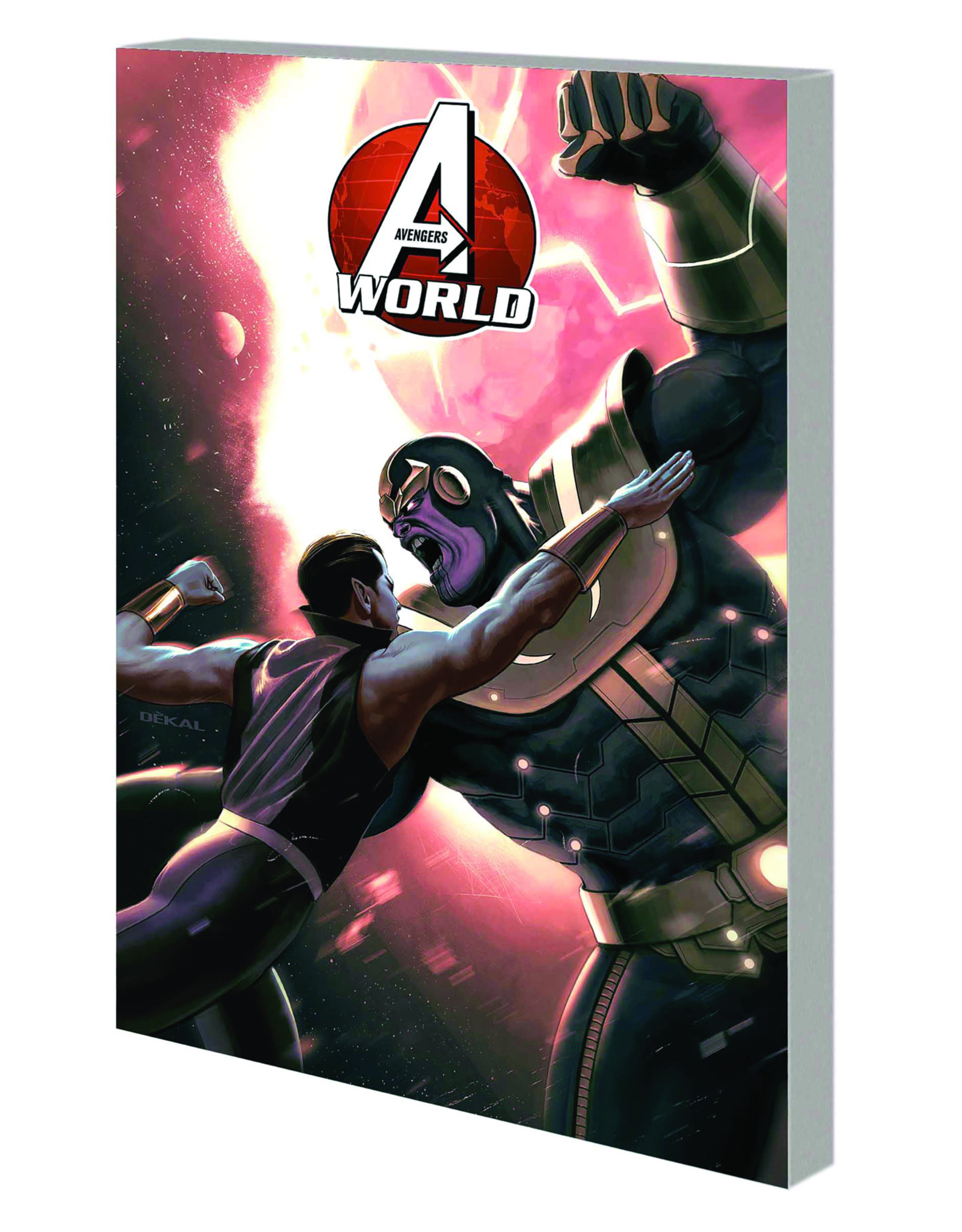 MARVEL COMICS AVENGERS WORLD TP VOL 04 BEFORE TIME RUNS OUT