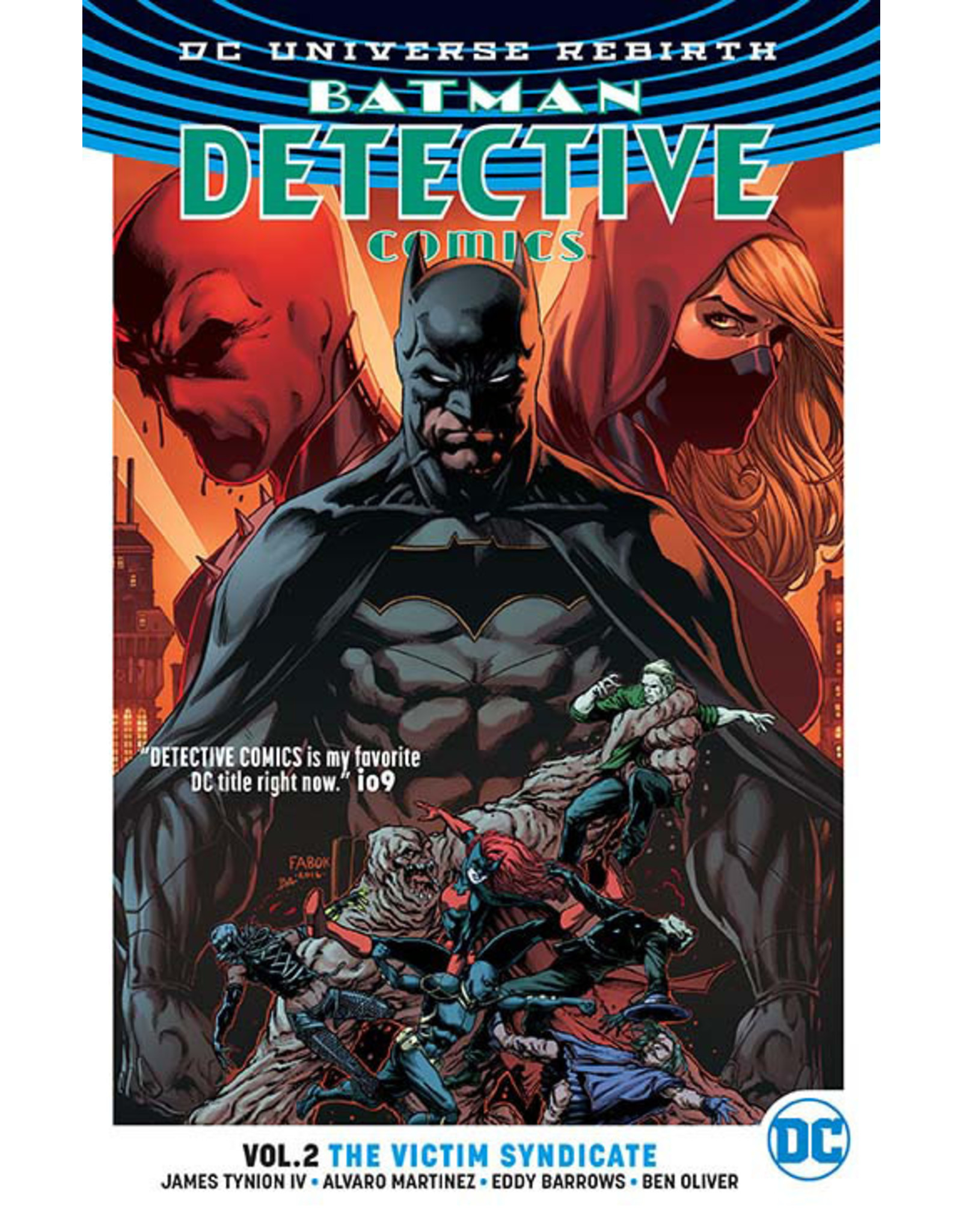 DC COMICS BATMAN DETECTIVE TP VOL 02 VICTIM SYNDICATE