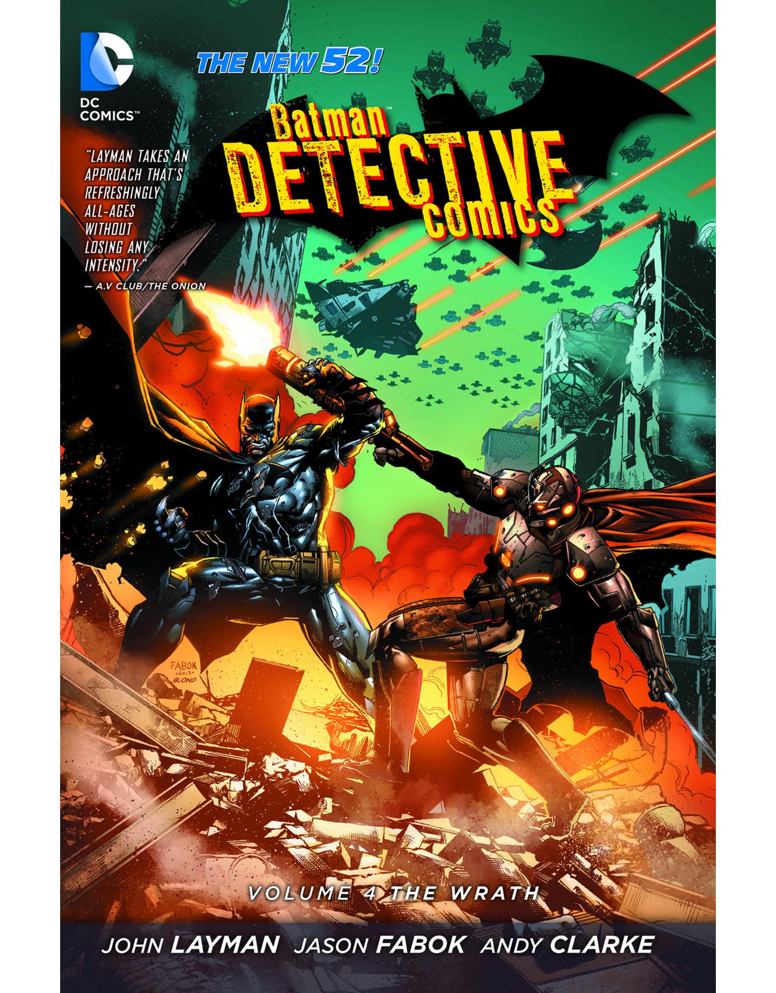 DC COMICS BATMAN DETECTIVE COMICS TP VOL 04 THE WRATH