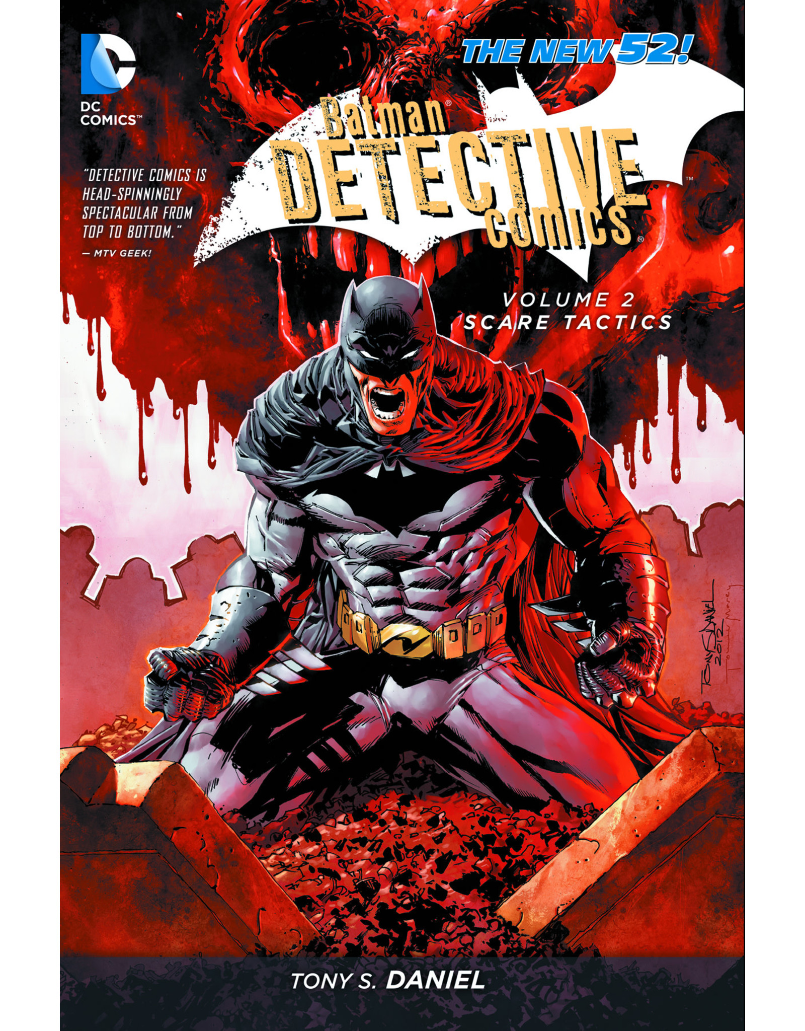 DC COMICS BATMAN DETECTIVE COMICS TP VOL 02 SCARE TACTICS