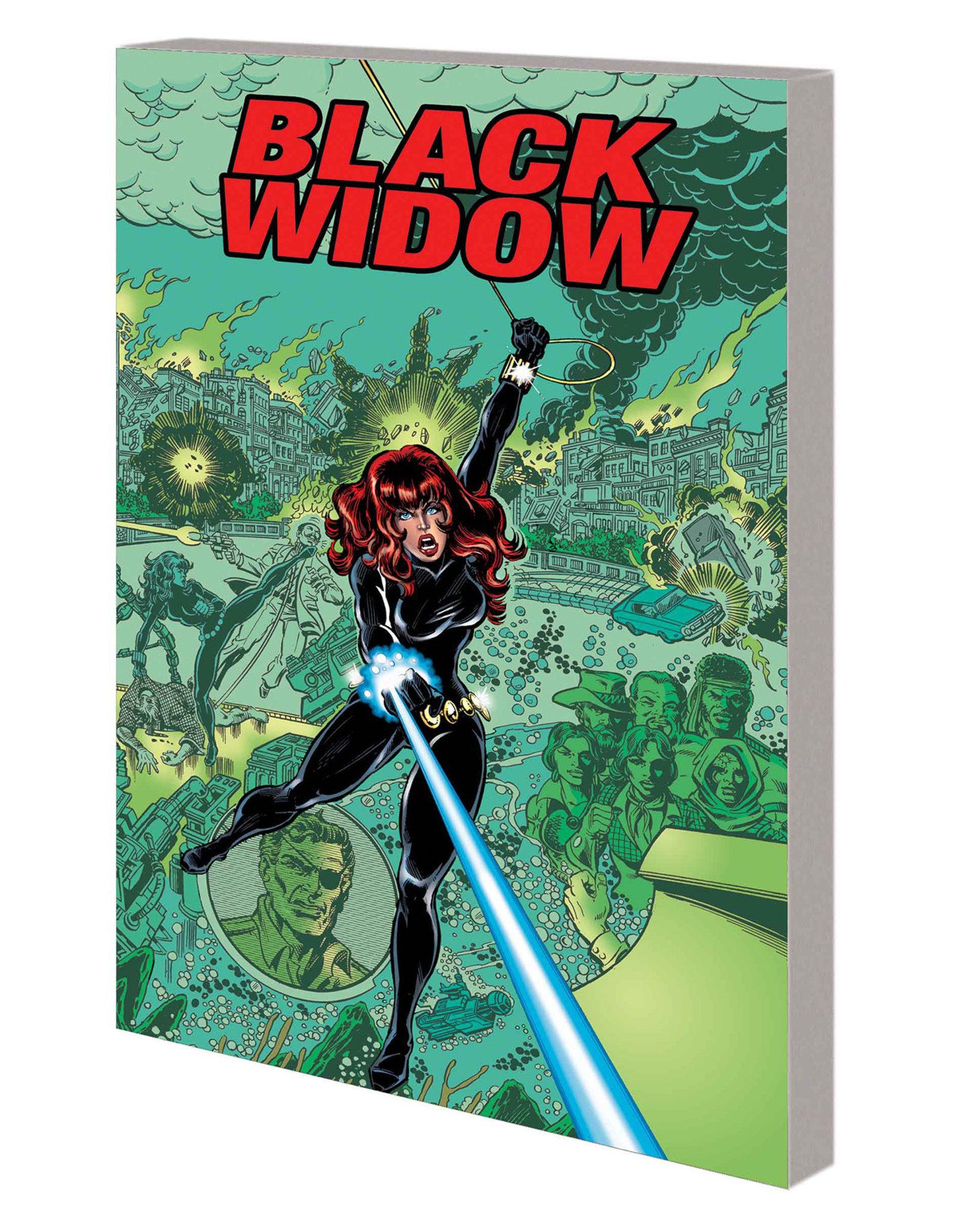 MARVEL COMICS BLACK WIDOW TP WEB OF INTRIGUE