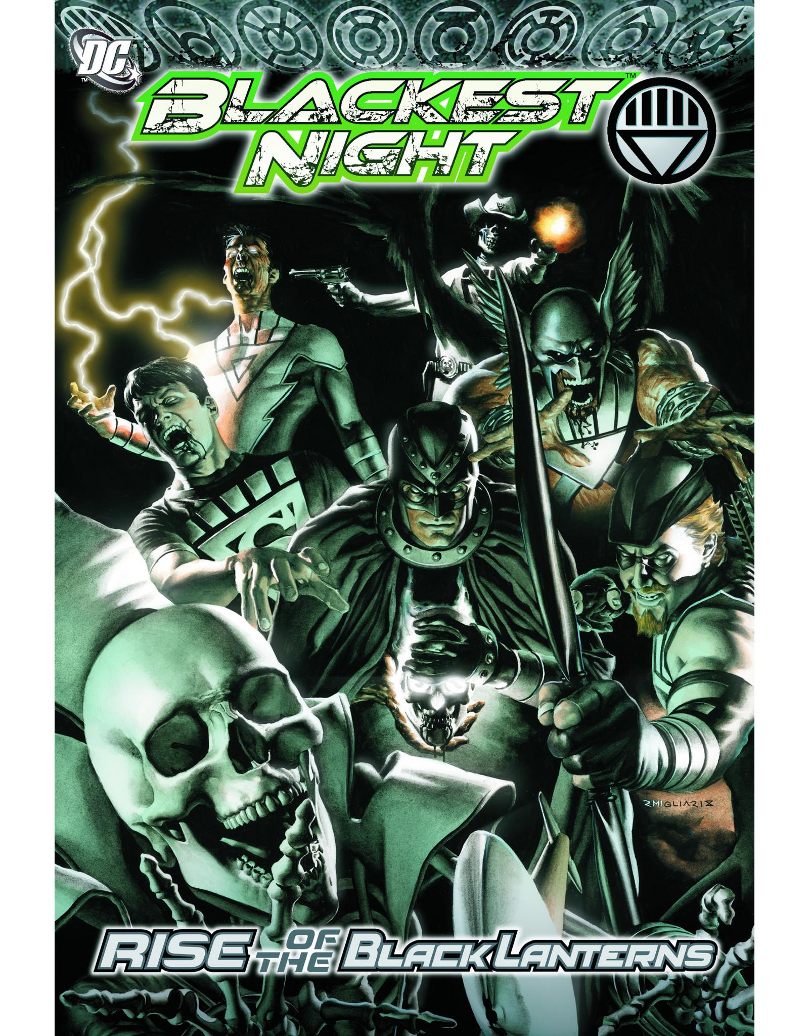 DC COMICS BLACKEST NIGHT RISE OF THE BLACK LANTERNS TP
