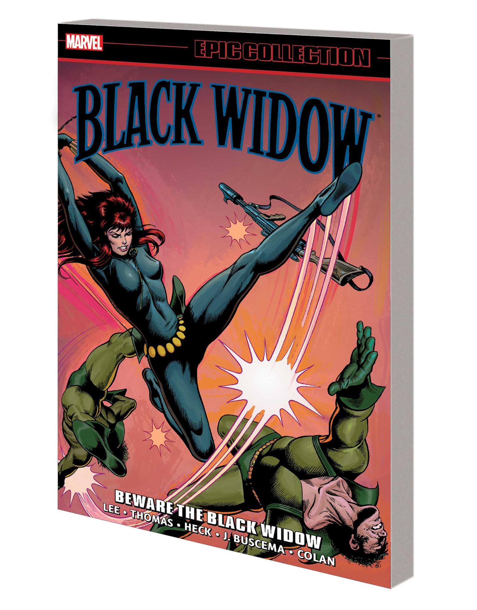 MARVEL COMICS BLACK WIDOW EPIC COLLECTION TP BEWARE BLACK WIDOW