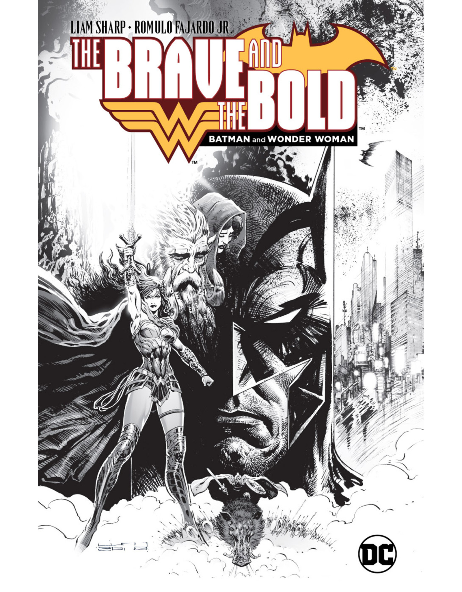 DC COMICS LCSD 2018 BRAVE AND THE BOLD BATMAN AND WONDER WOMAN HC