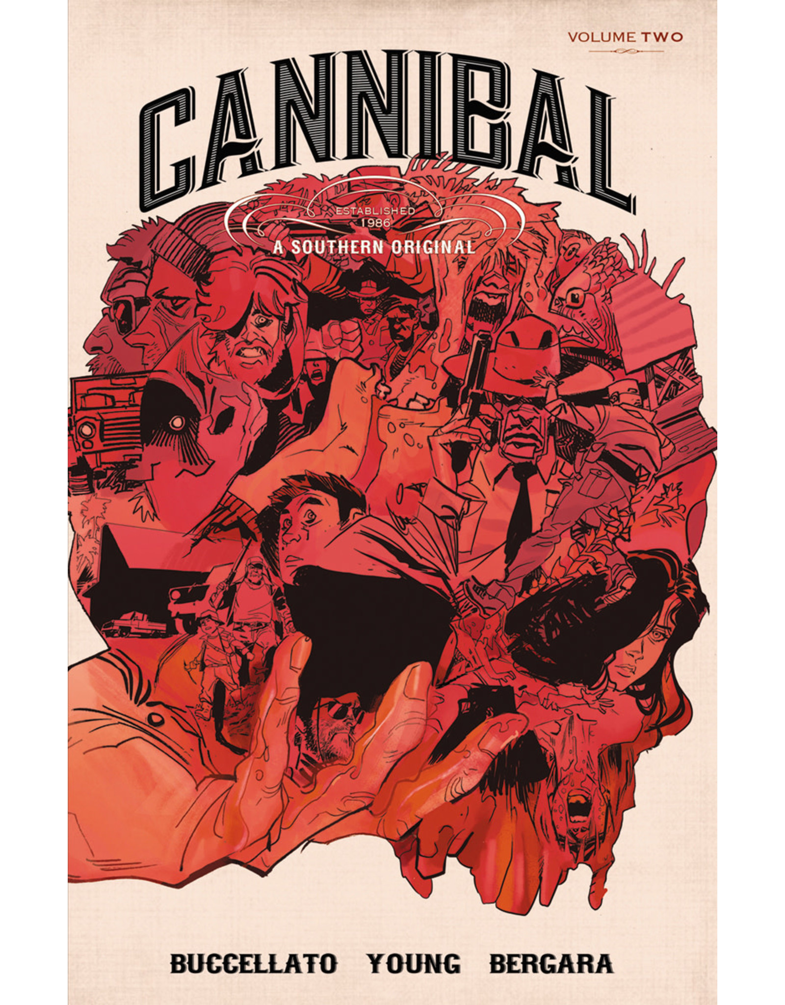 IMAGE COMICS CANNIBAL TP VOL 02