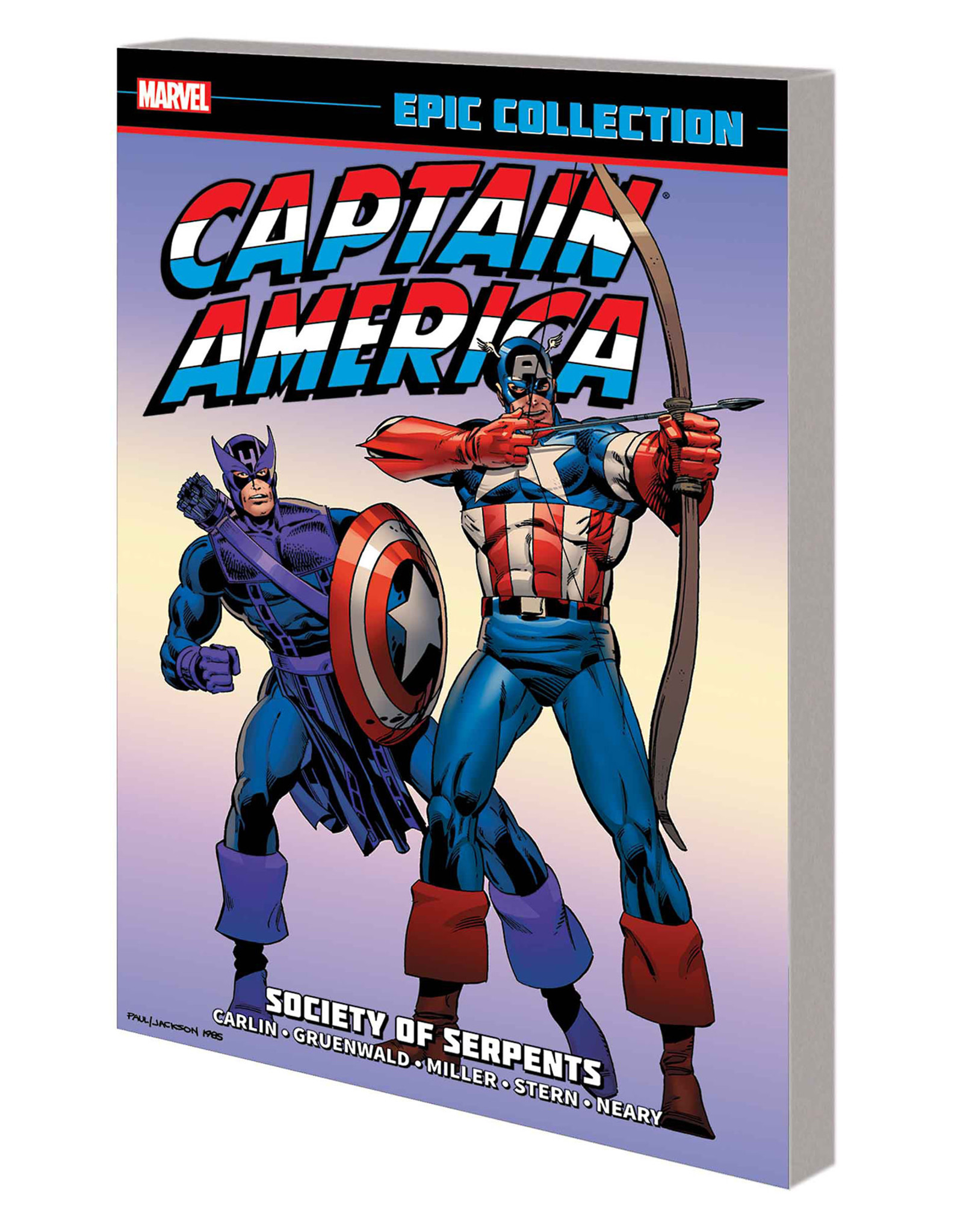 MARVEL COMICS CAPTAIN AMERICA EPIC COLLECTION SOCIETY SERPENTS TP