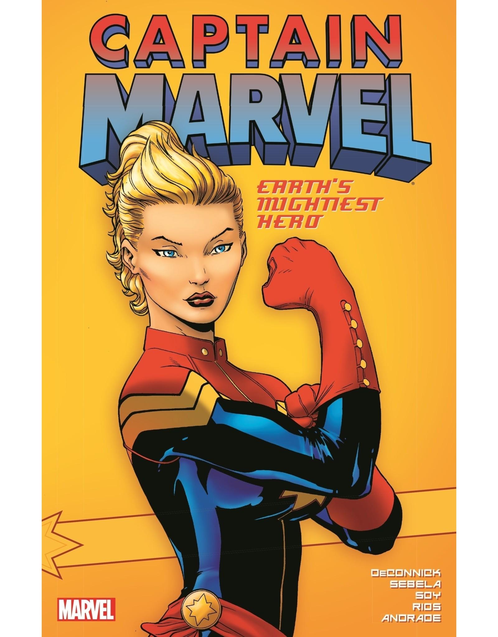 MARVEL COMICS CAPTAIN MARVEL EARTHS MIGHTIEST HERO TP VOL 01