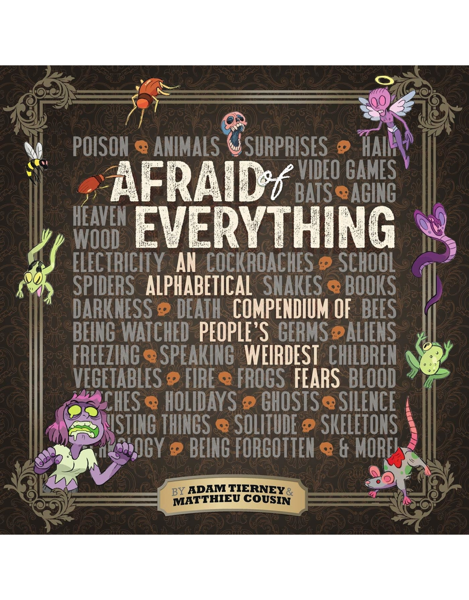 IDW PUBLISHING AFRAID OF EVERYTHING HC GN