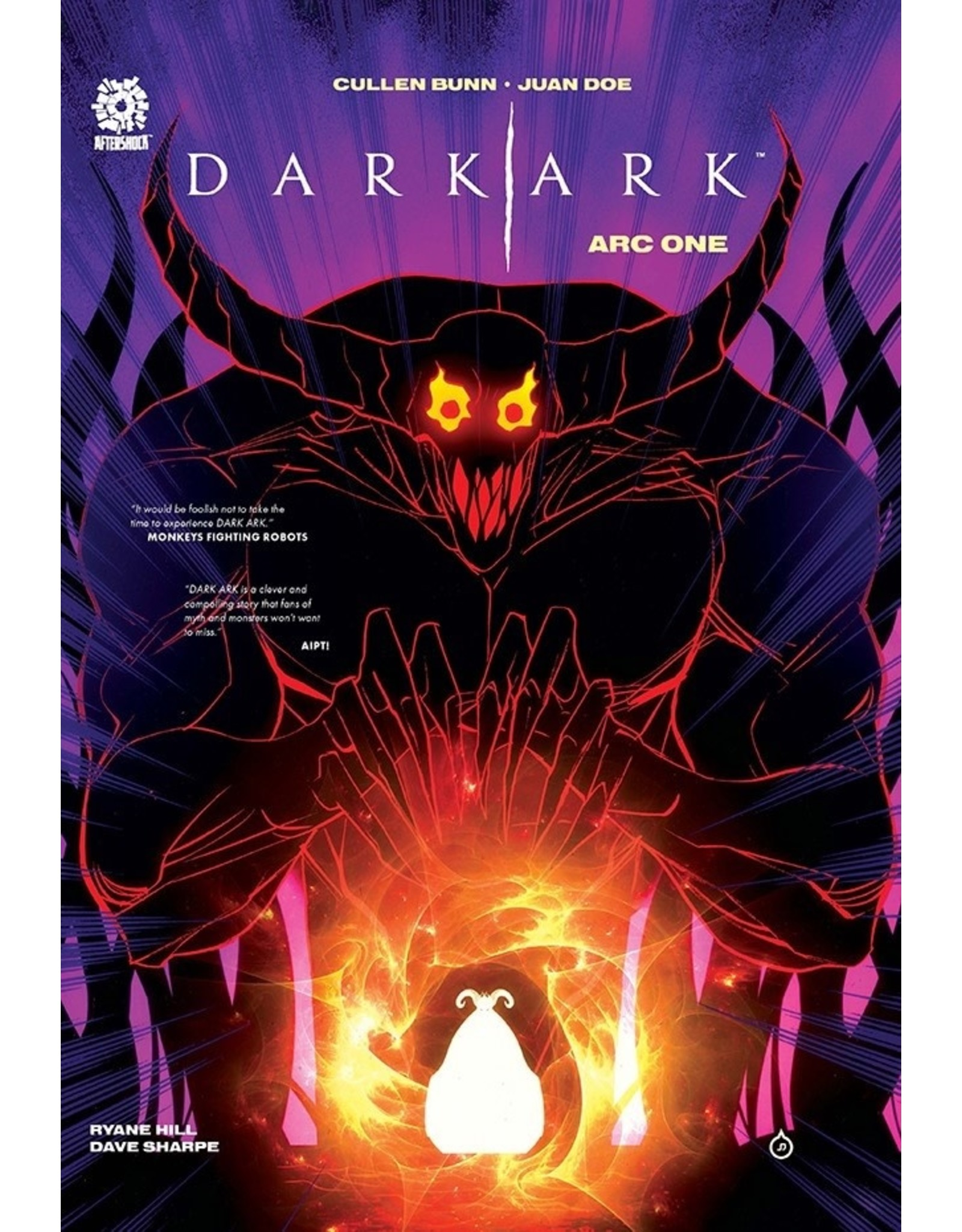 AFTERSHOCK COMICS DARK ARK HC VOL 01 ARC ONE