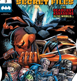 DC COMICS BATMAN SECRET FILES #3