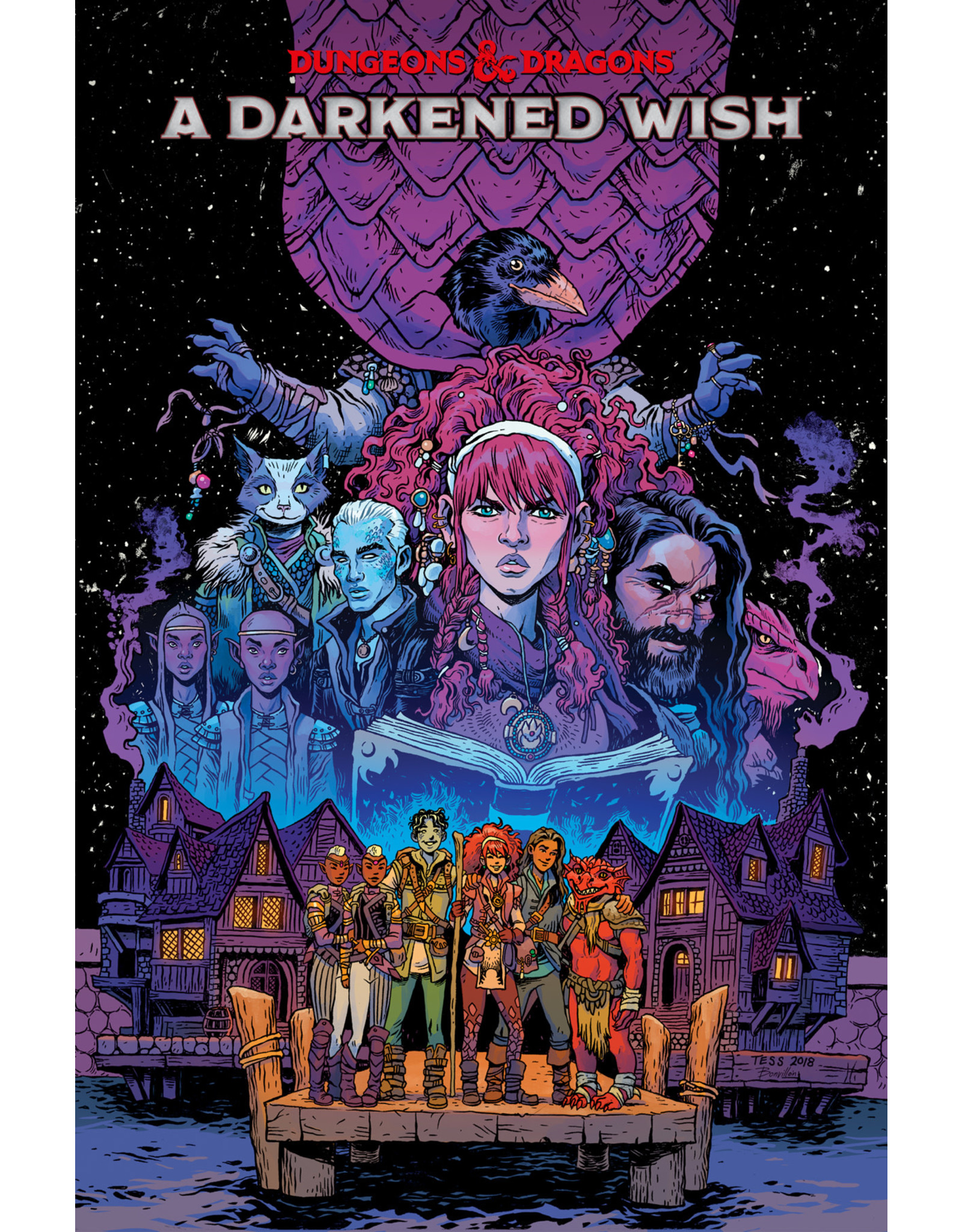 IDW PUBLISHING DUNGEONS & DRAGONS A DARKENED WISH TP