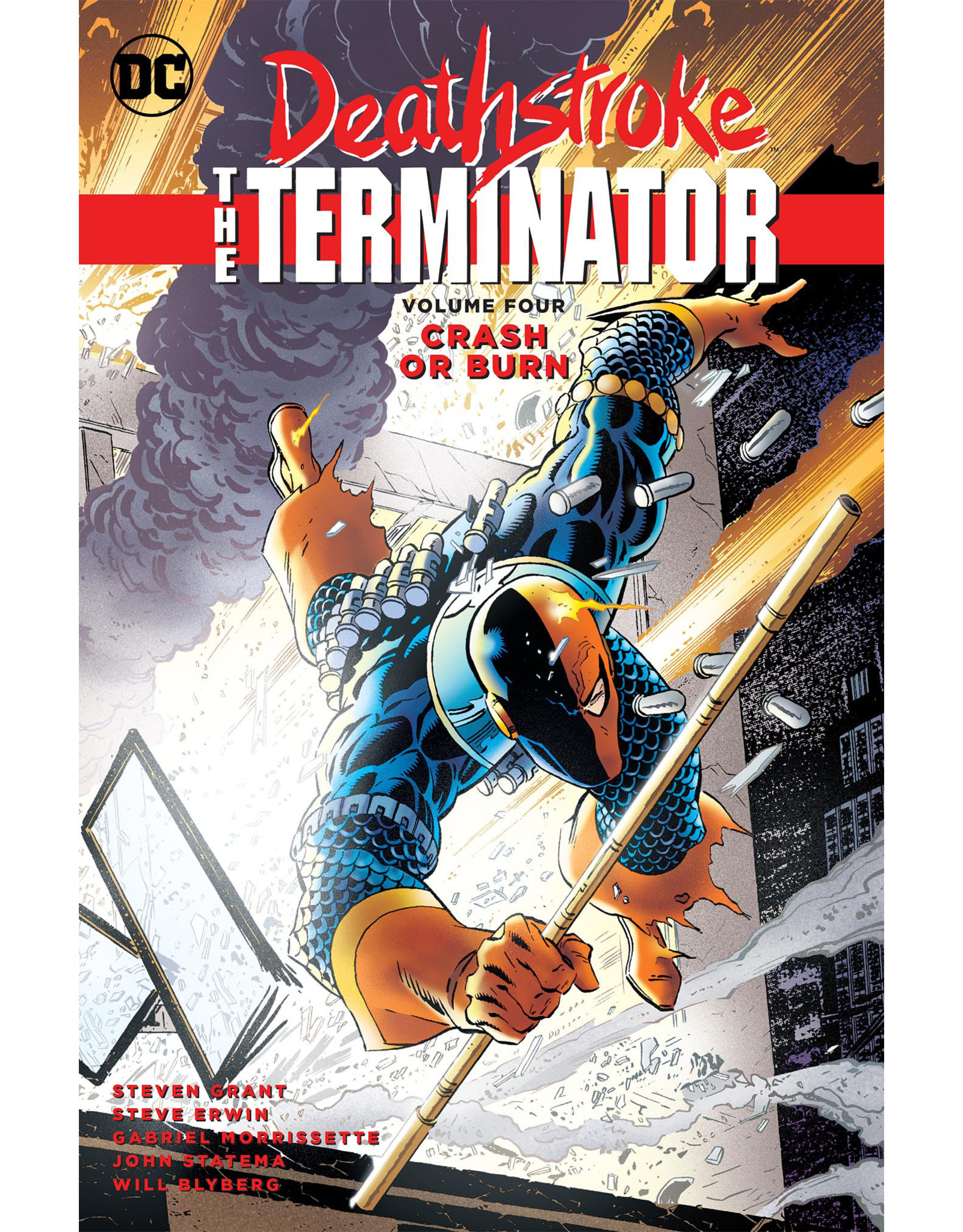 DC COMICS DEATHSTROKE THE TERMINATOR TP VOL 04 CRASH OR BURN