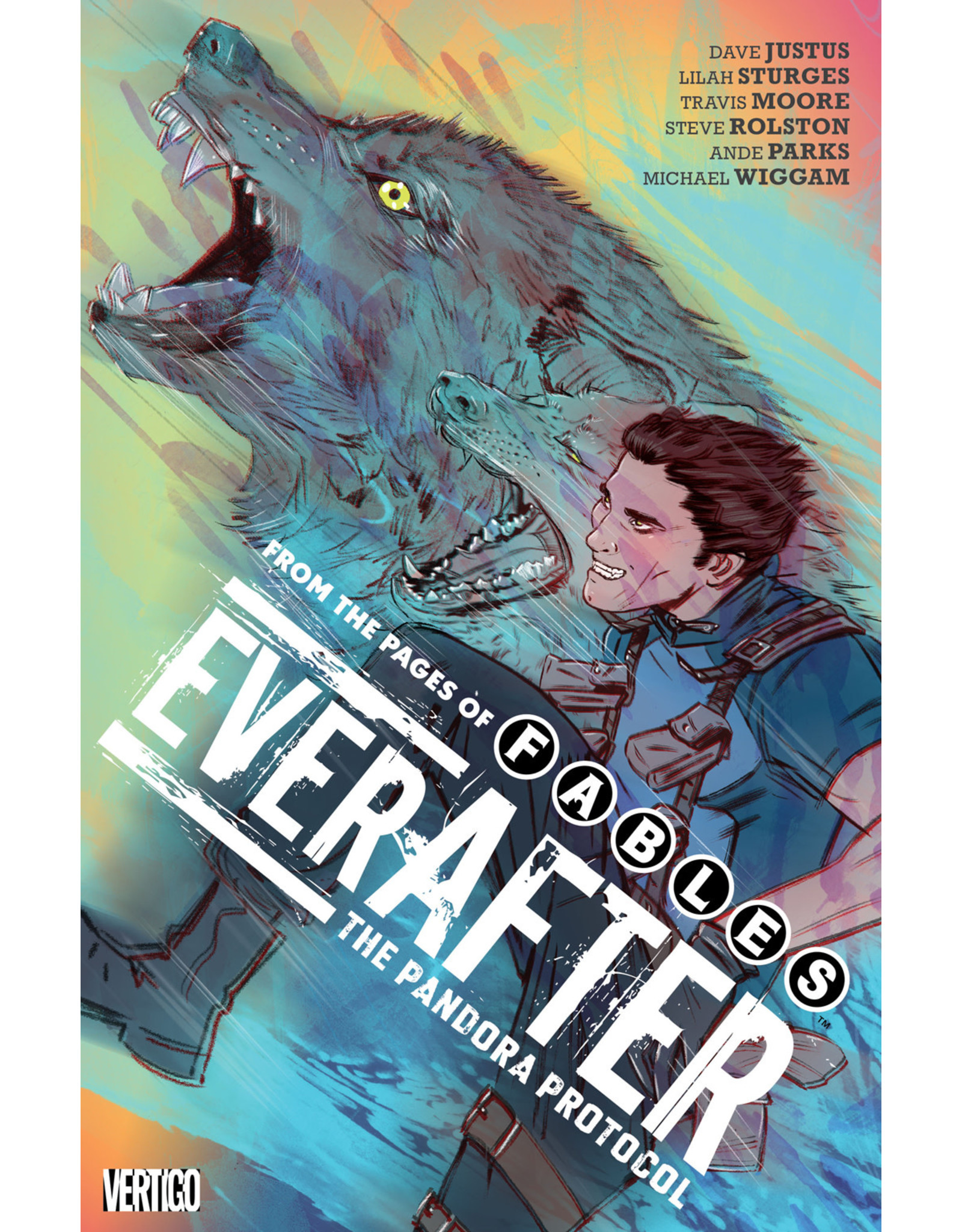 DC COMICS EVERAFTER FROM THE PAGES OF FABLES TP VOL 01 PANDORA
