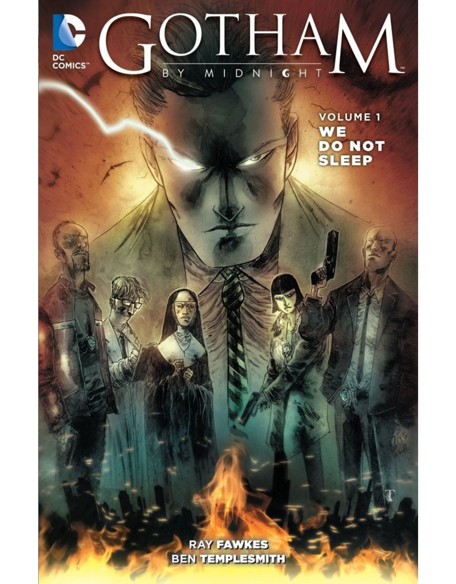 DC COMICS GOTHAM BY MIDNIGHT TP VOL 01 WE DO NOT SLEEP