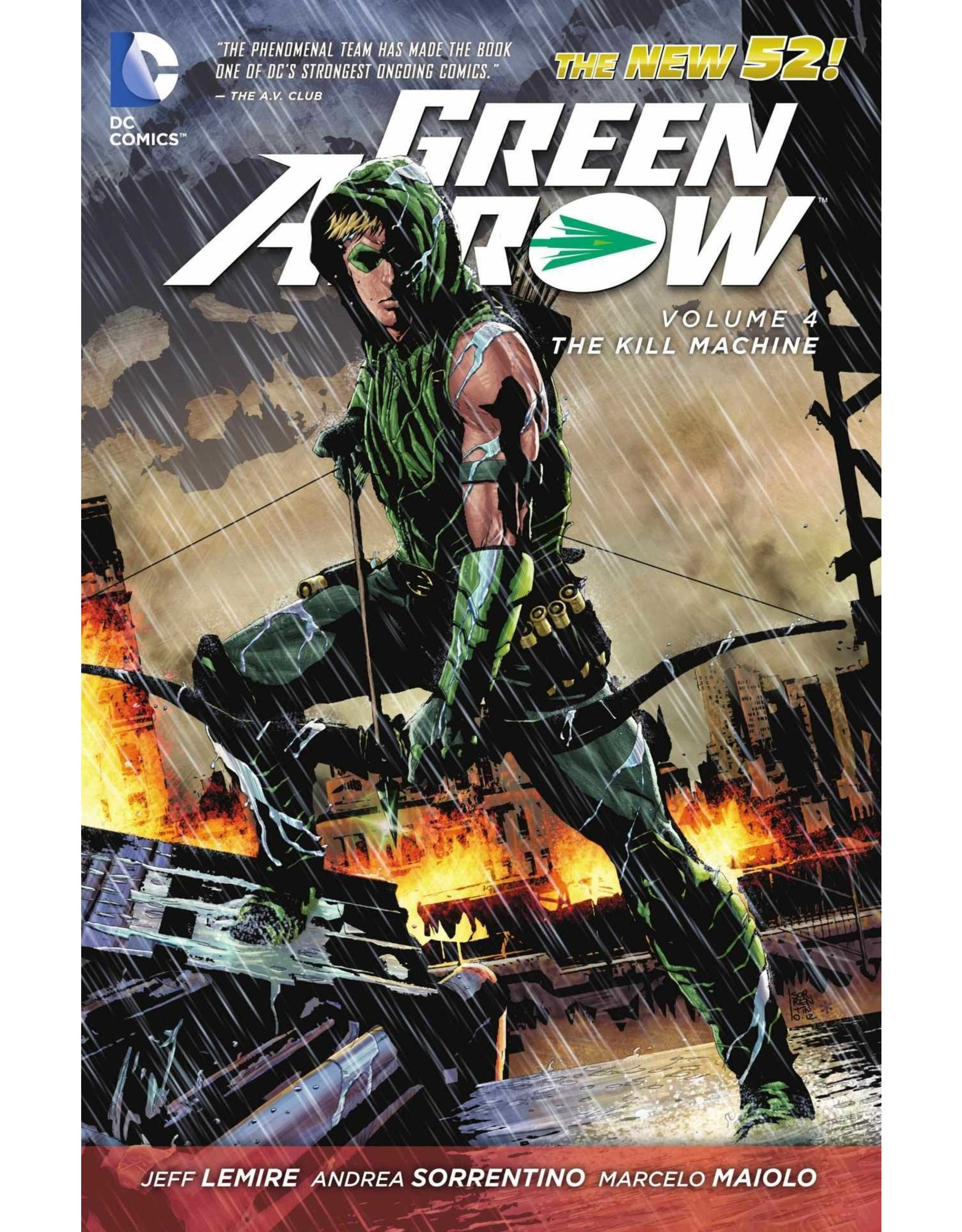 DC COMICS GREEN ARROW TP VOL 04 THE KILL MACHINE
