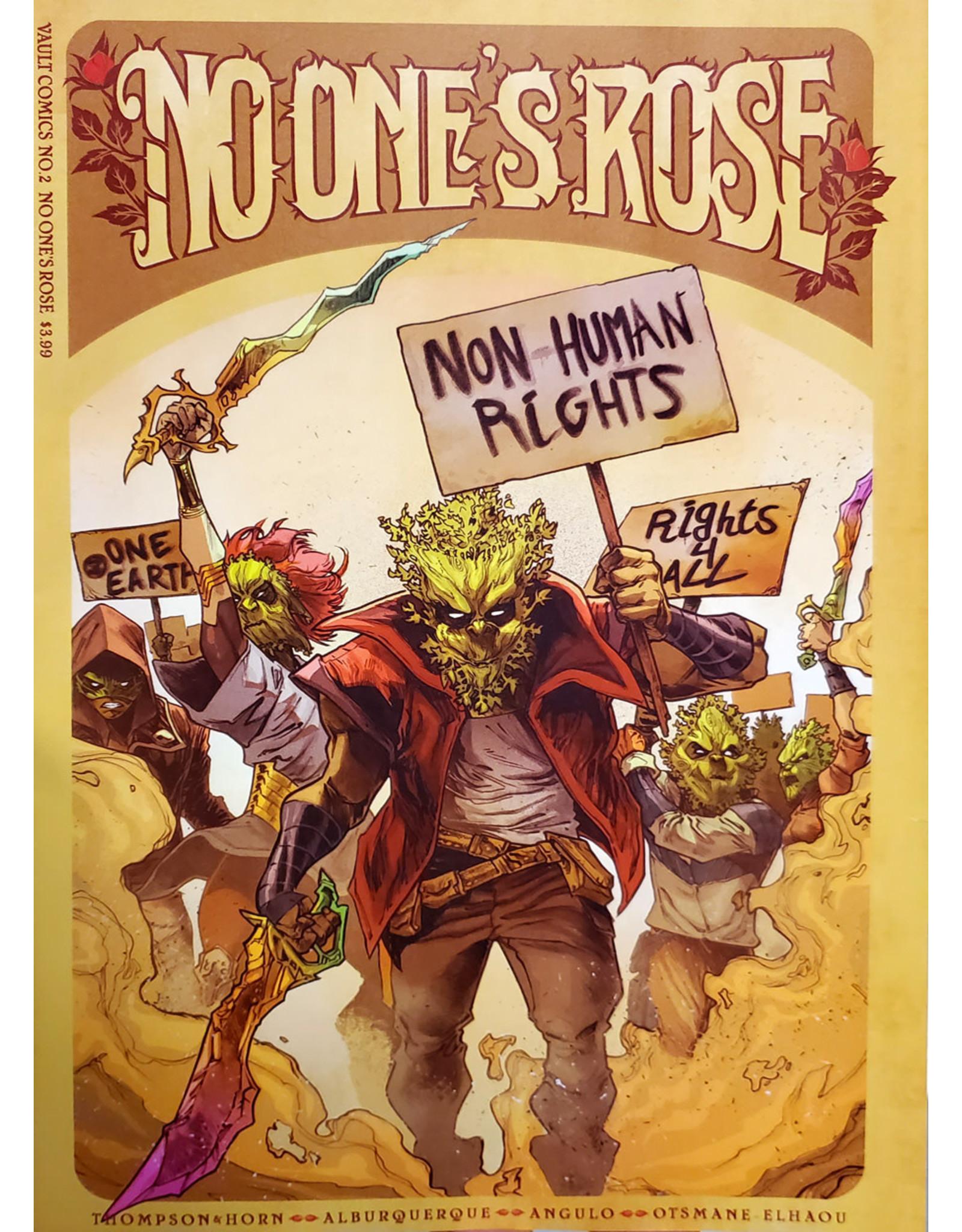 VAULT COMICS NO ONES ROSE #2