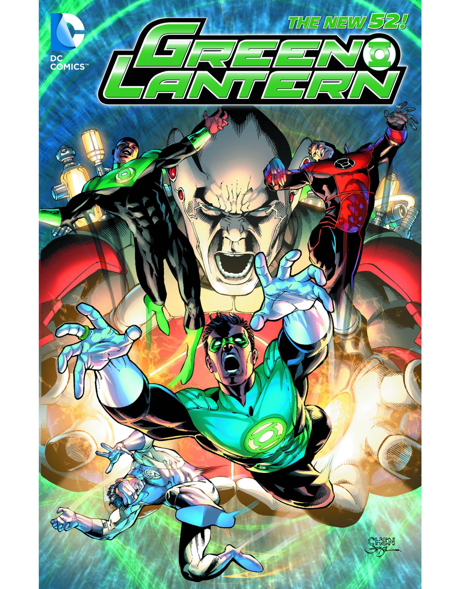DC COMICS GREEN LANTERN LIGHTS OUT HC