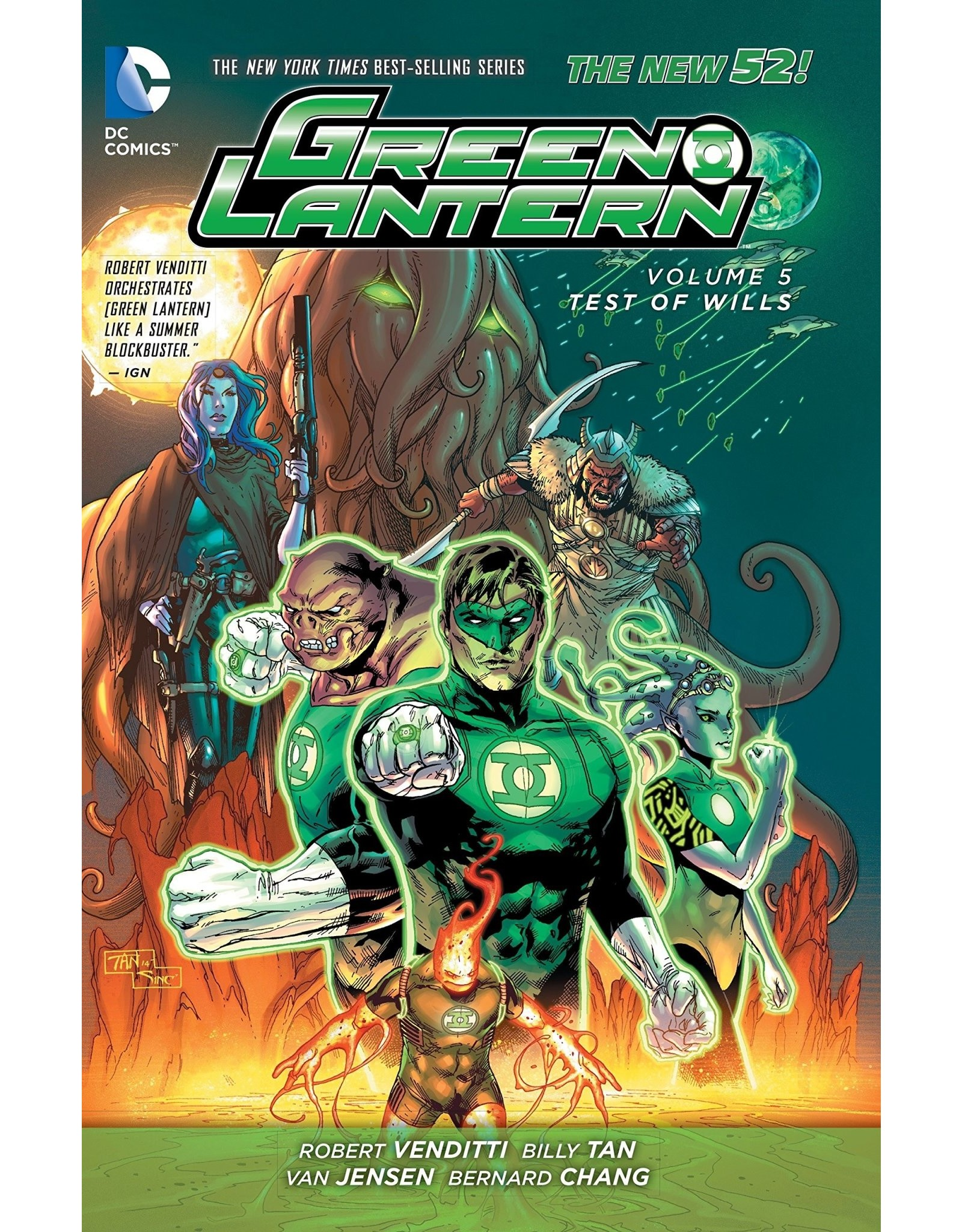 DC COMICS GREEN LANTERN HC VOL 05 TEST OF WILL