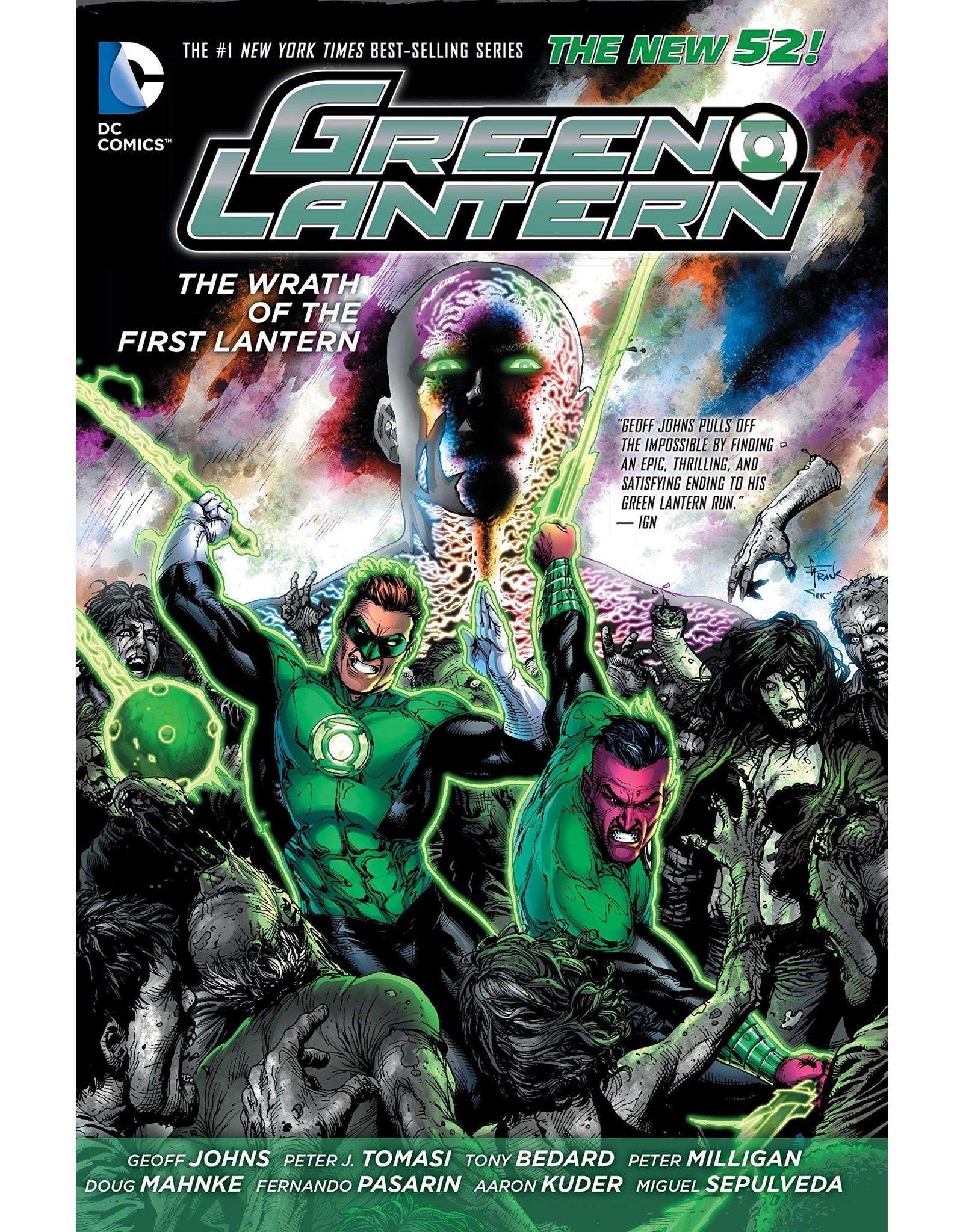 DC COMICS GREEN LANTERN WRATH OF THE FIRST LANTERN HC